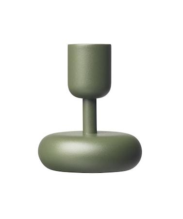Nappula Kynttilänjalka 10.7 cm Sammaleenvihreä