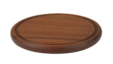 Rund Serveringsbakke Træ Ø 30 cm