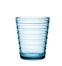 Aino Aalto glas 22 cl lysblå 2-pak
