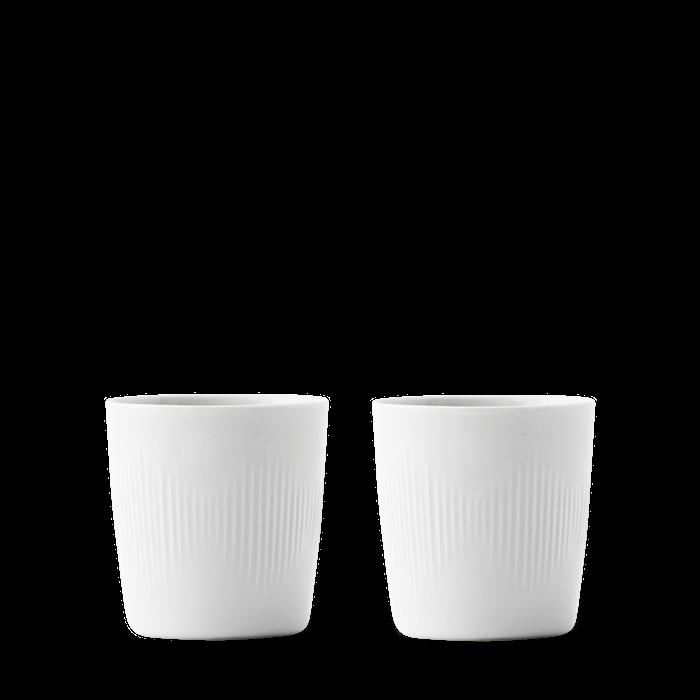 Thermodan Termomuki Valkoinen Posliini 20 cl 2-Pakkaus