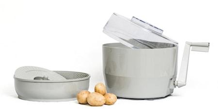 Kartoffelskræller med håndsving