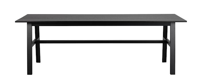 Hudson Spisebord Svart 230 cm