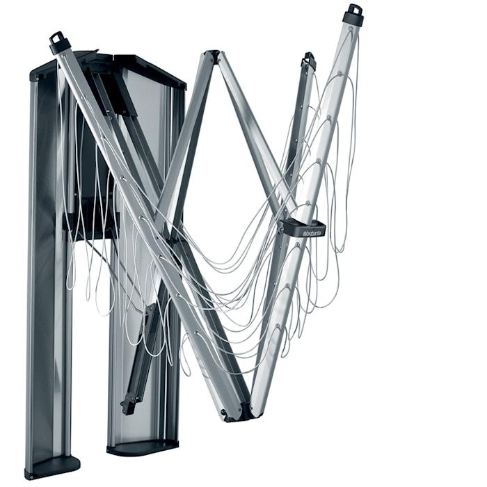 WallFix 24 suojalaatikko ruostumattomasta teräksestä 24 M Metallic harmaa/harjattu teräs