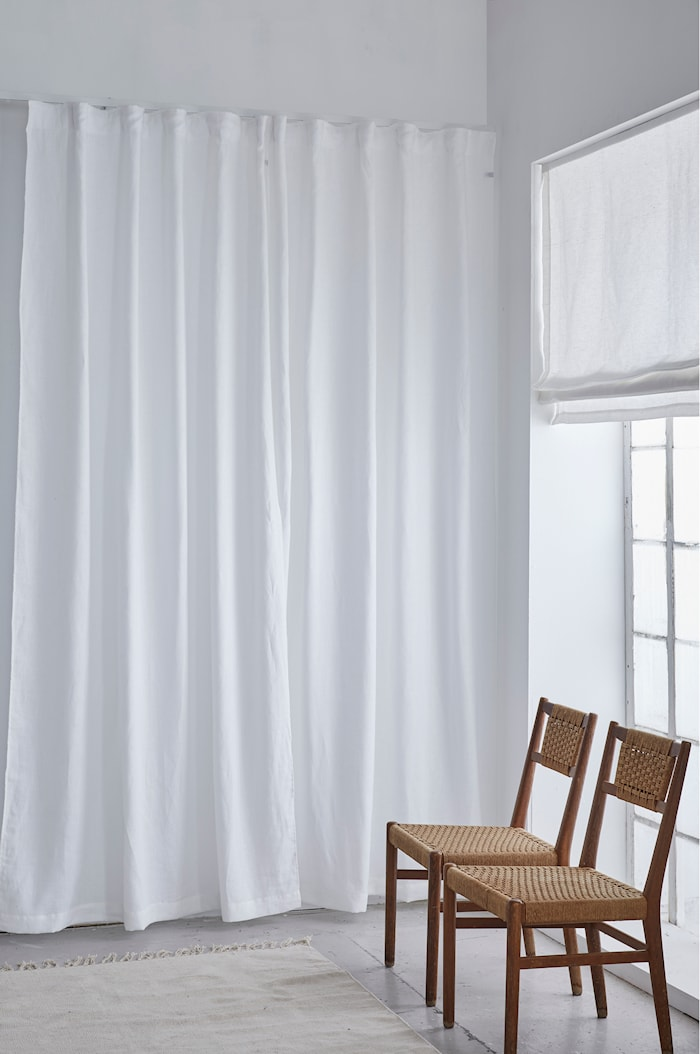 Springtime Gardin med rynkebånd 285 x 290 cm