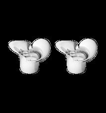 Lanterne pour bougie chauffe-plat Bloom Botanica 2 pièces
