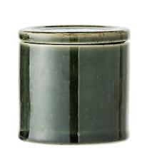 Joëlle Burk med lock Grön 8cm