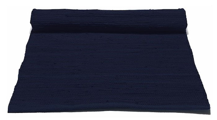Bomullsmatta Deep ocean blue