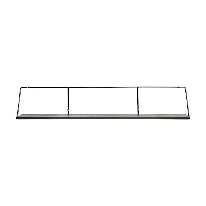 HD - 2 Col - Shelf, Wired Black stain