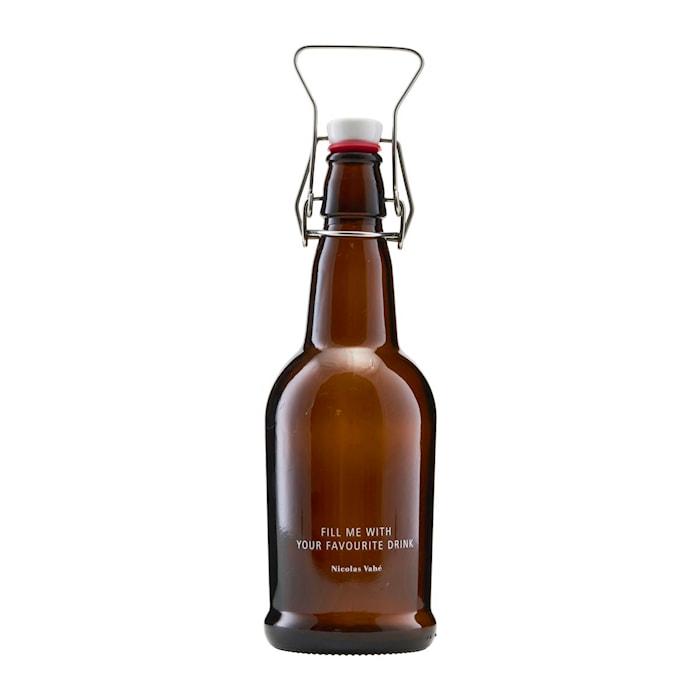 Flaska med kork Brun 48cl