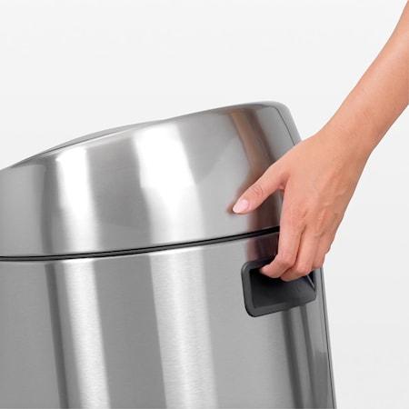 Touch Bin, plastinnerhink 45 L Mattborstat Stål /F.P.P.