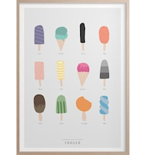 Farben Poster 30x40 cm