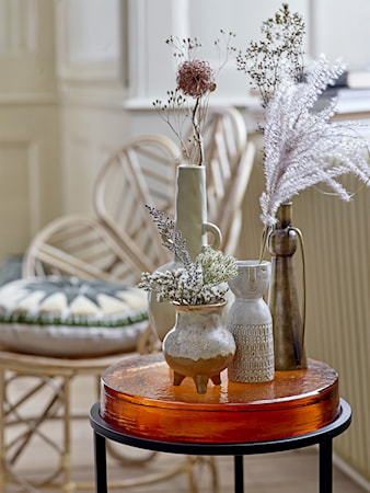 Edna Sidorbord Rose Glas
