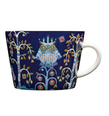 Taika Kaffe/cappuccinokop 20cl blå