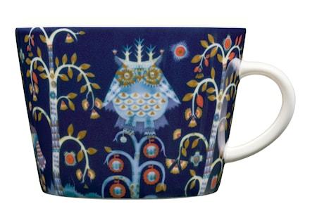 Taika Kaffe/cappuccinokopp 20 cl blå