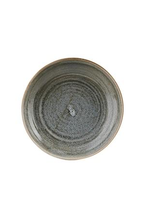 Platte Nord Ø 22x5 cm Grau