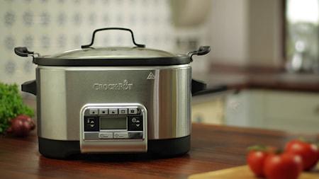 Multifunktionell Slow Cooker 5,6 liter