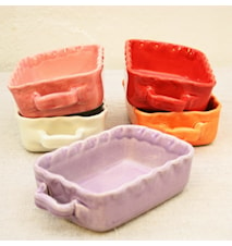 Dish Purple 13x9 cm