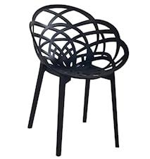 Muubs Flora stol - svart