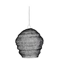 Lampeskærm Ø 40 cm - Sort