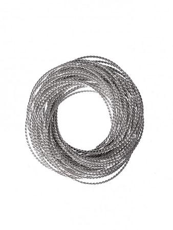 Servettring Kerala Silver Ø60mm