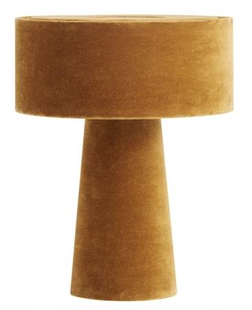 MUSHROOM Bordlampe Sennepsgul