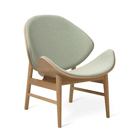 The Orange Lounge Chair Light Cyan Vitoljad ek