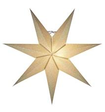 Tilly Julstjärna Guld 60 cm
