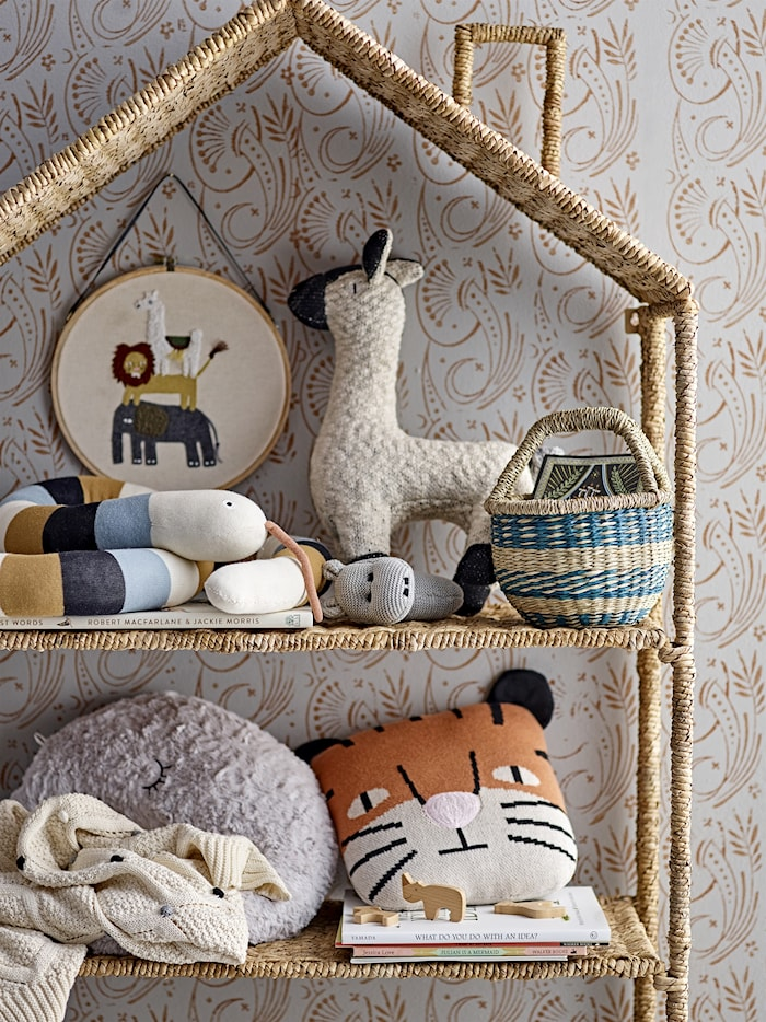Decke Natur Baumwolle