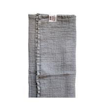 Vohvelikäsipyyhe Fresh Laundry 100x150cm hopeaharmaa