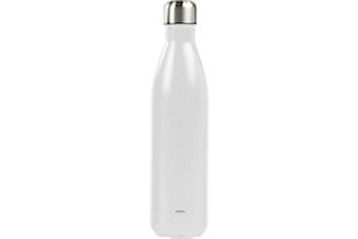 Ståltermoflaske 0,75 L, hvid