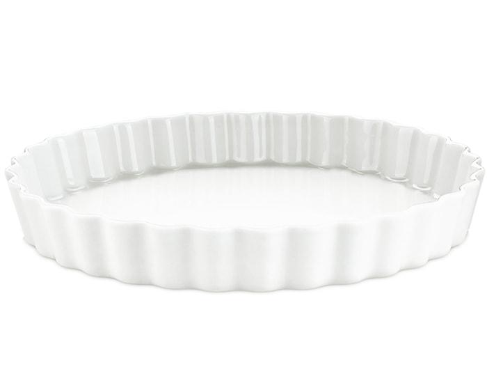 Piirakkavuoka nr. 11 valkoinen Ø 33 cm