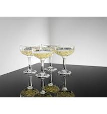 Harvey Champagneglas/Dessertskål 4 Stk