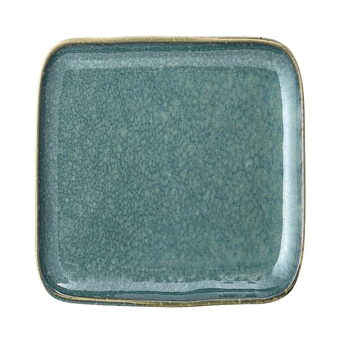 Aime Plate, Green, Stoneware