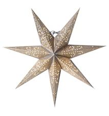 Ludwig Julstjärna Silver/Guld 44 cm