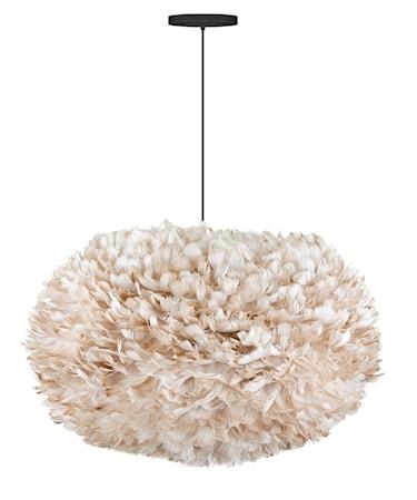 Eos x-large lampe – Lysebrun