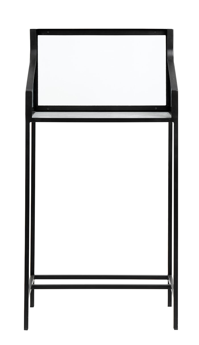 Counter Sidobord Marmor bord med Glas