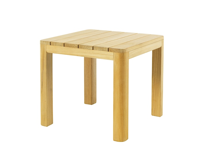Clay sidebord i teak 45x45 cm