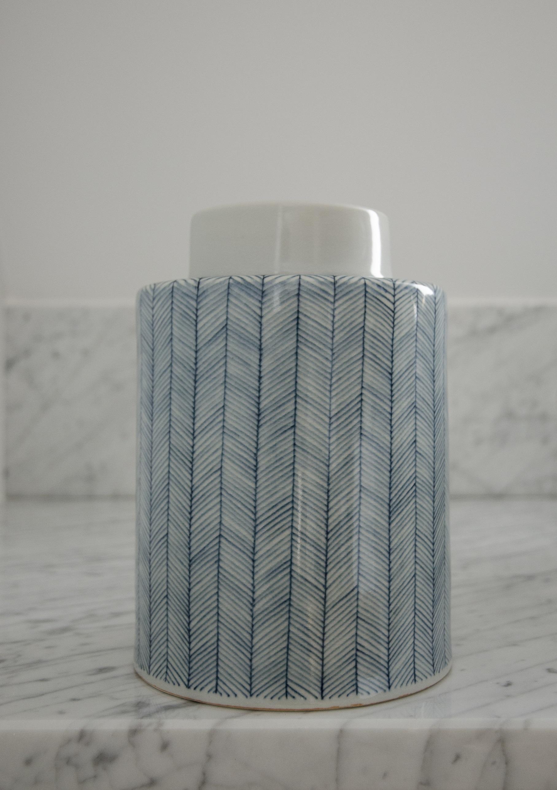 Tweed keramikburk – Indigo