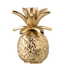 Lysestake Ananas Ø 9,5 cm - Gull