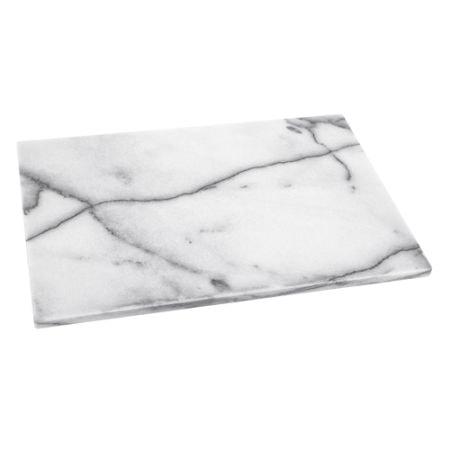 Rektangulär bricka marmor