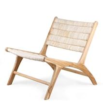 Louge Chair Abaca/Teak