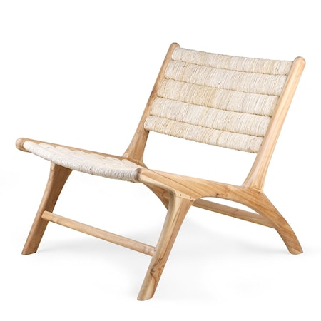 Louge Chair Abaca/Teak