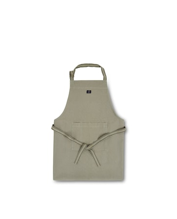 Icons Cotton Canvas Apron Förkläde Sage 80x105cm