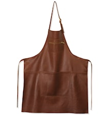 Zipper Style Apron Classic Brown