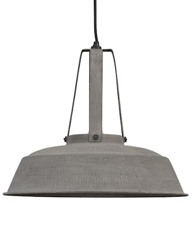 Taklampe Metall Grå L