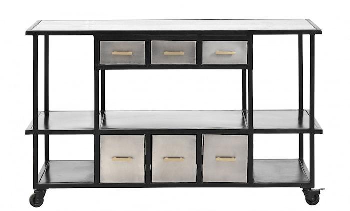 Konsolbord Järn med lådor