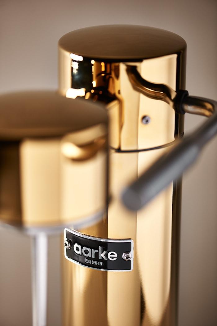 Aarke Carbonator 3 Hiilihapotuslaite Kulta