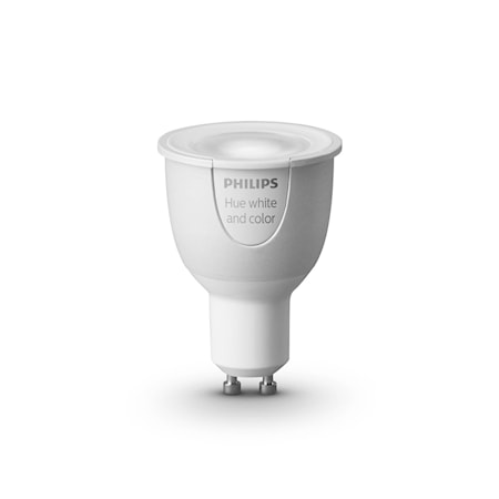 Hue White and Color GU10-Lampa