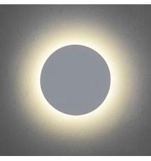 Eclipse Round 350 vägglampa – Kallt ljus