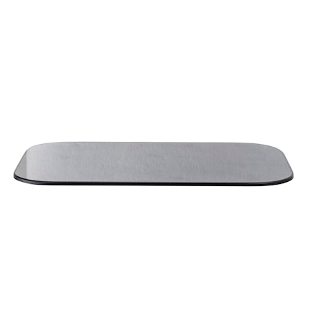 Bricka Silver Glass